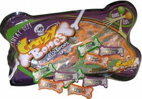 Crazy Bones Halloween Lollipops 13 Count: BlairCandy.com