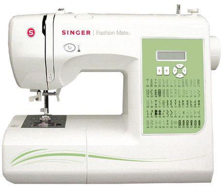 Singer 7256 Fashion Mate Electronic Sewing Machine ...
