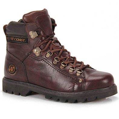 Bota Coturno Masculina West Coast - Chocolate