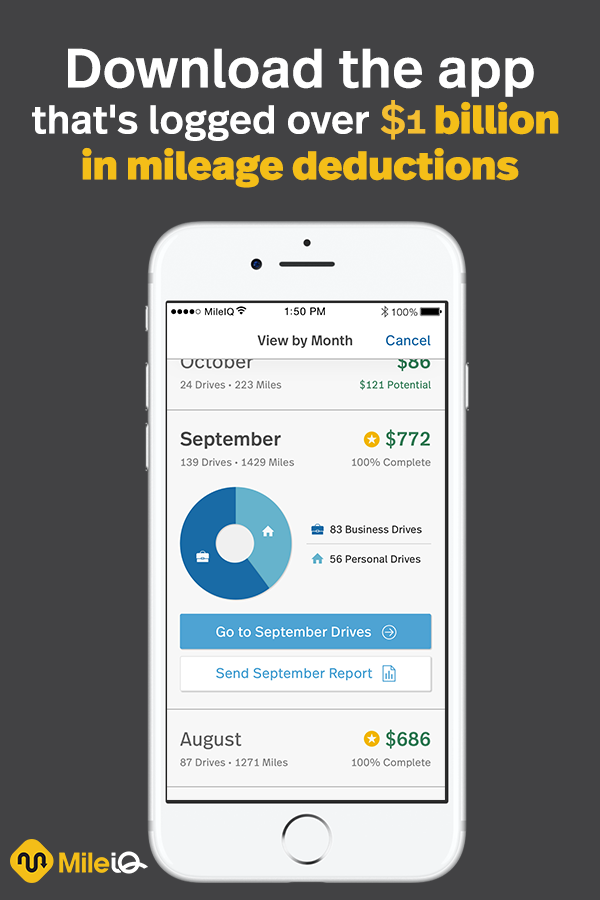 keeping track of your mileage install mileiq make life easy