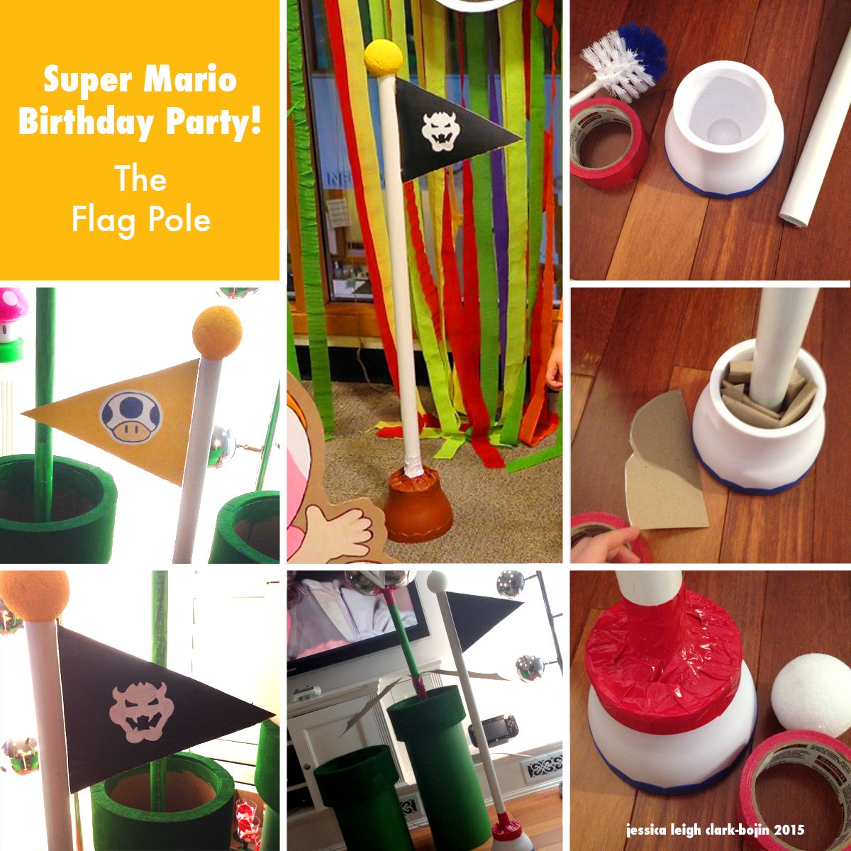 Pin On Super Mario Birthday Party Step By Step