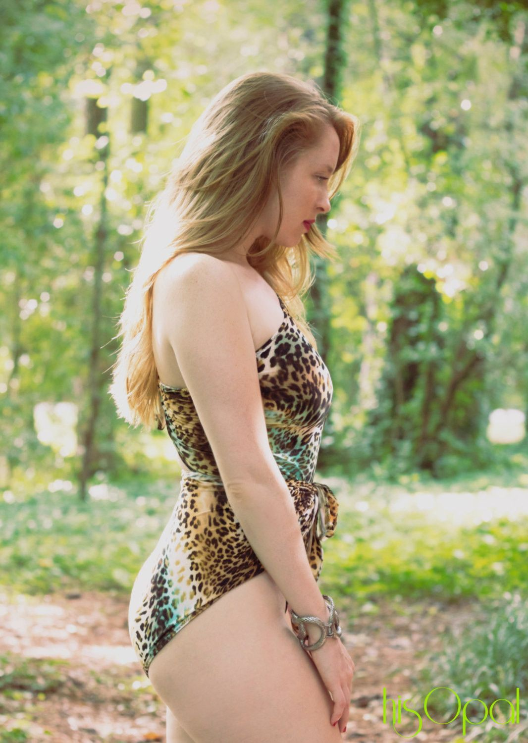 Small Bathing Suit Wrap Around Swimsuit Leopard Turquoise ...