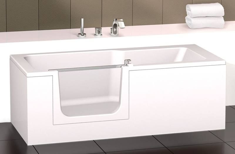 Baignoire A Porte Installer Une Porte Sur Sa Baignoire Guide Amnagement Senior Et Bathroom In 2019 Bathtub Bathroom House