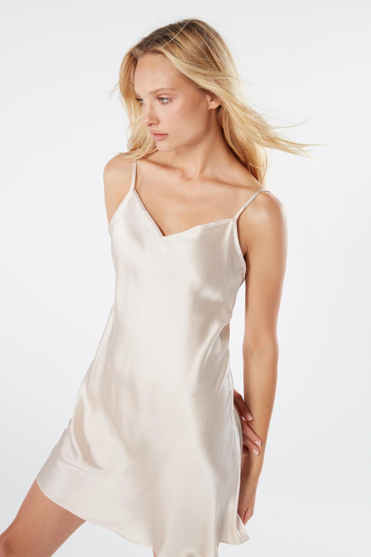 Silk Slip Intimissimi White Slip Dress Silk Slip White Silk Dress [ 1500 x 1000 Pixel ]