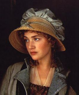 Kate Winslet (only 19 at the time) as Marianne Dashwood in 'Sense and Sensibility' 1996