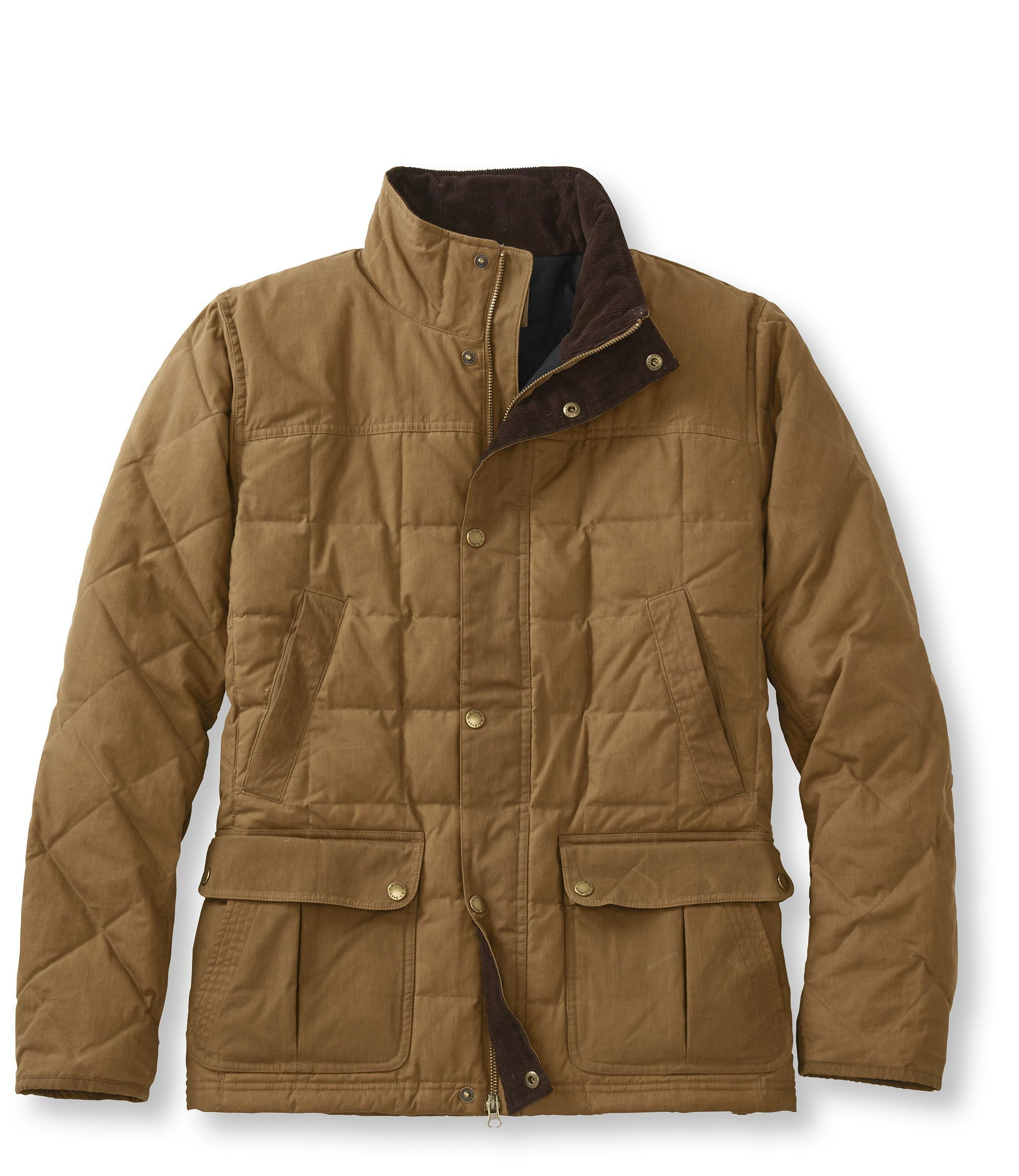 L.L.Bean Upcountry Waxed Cotton Down Jacket | Best mens