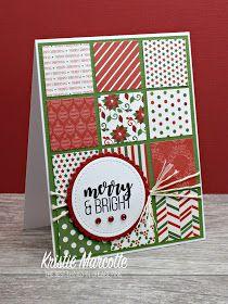 34 Cards From One 6x6 Paper Pad Diy Carte De Noel Cartes De
