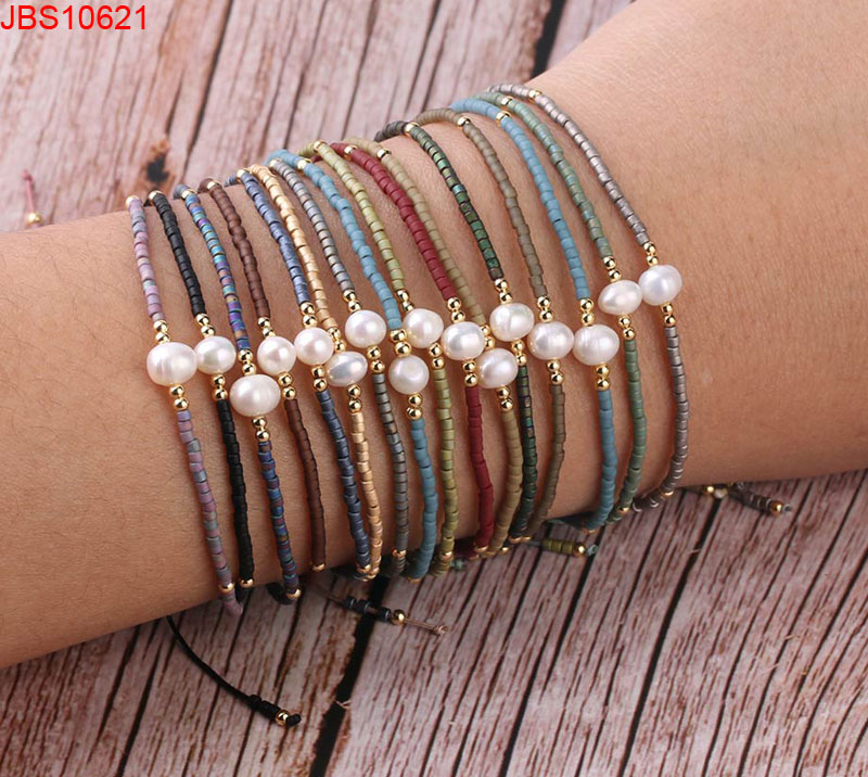 Pear Handmade Jewelry For Women Miyuki Seed Beads Bracelet , Find Complete Details about Pear Handm