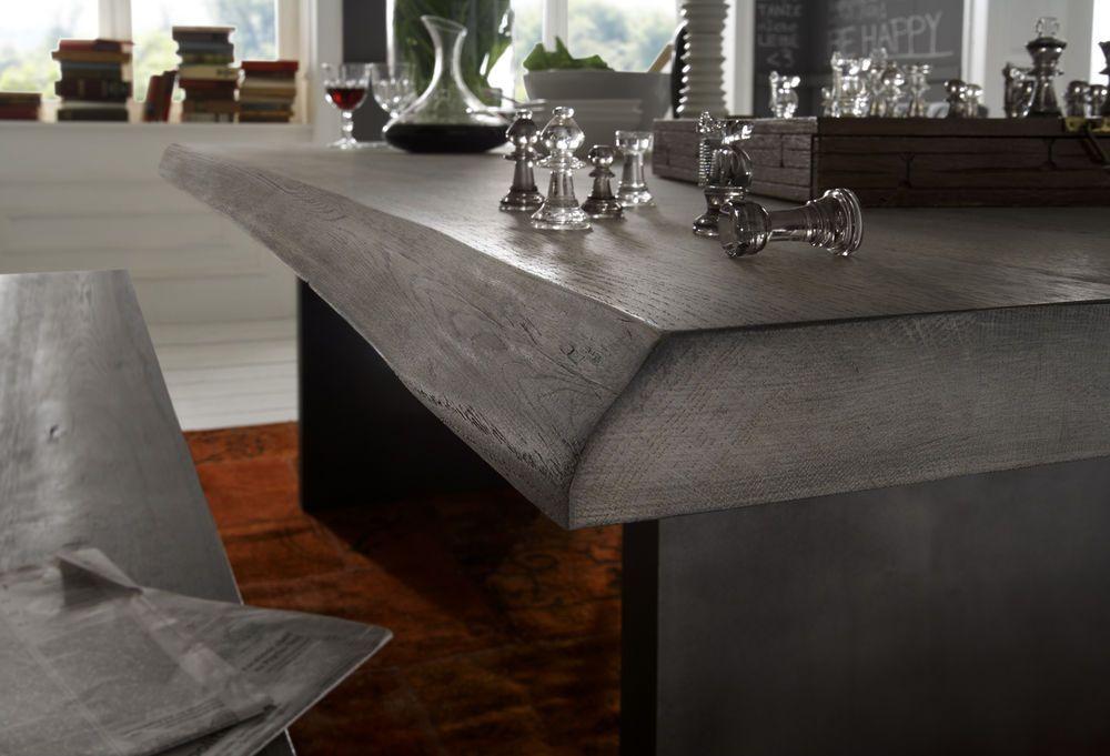 Tisch Esstisch Jörd massiv Holz Tisch eiche 200 X 100 Cm Sitz ESS