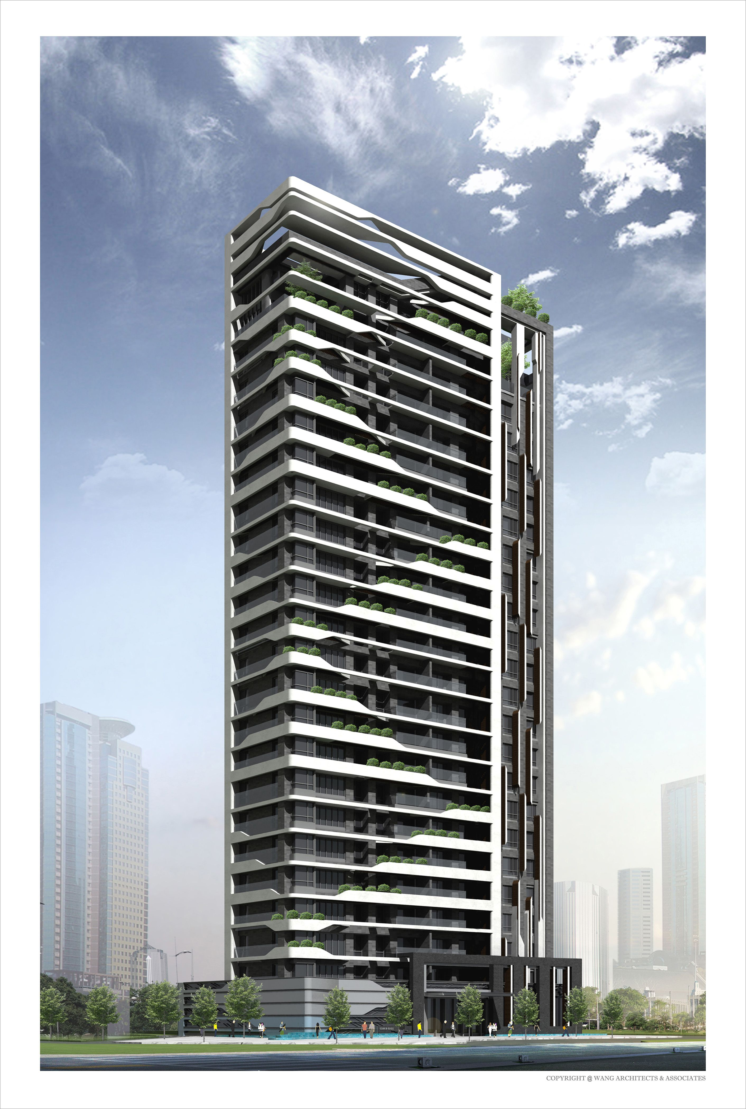 One Of The Ideal High Rise Building Facades Facade