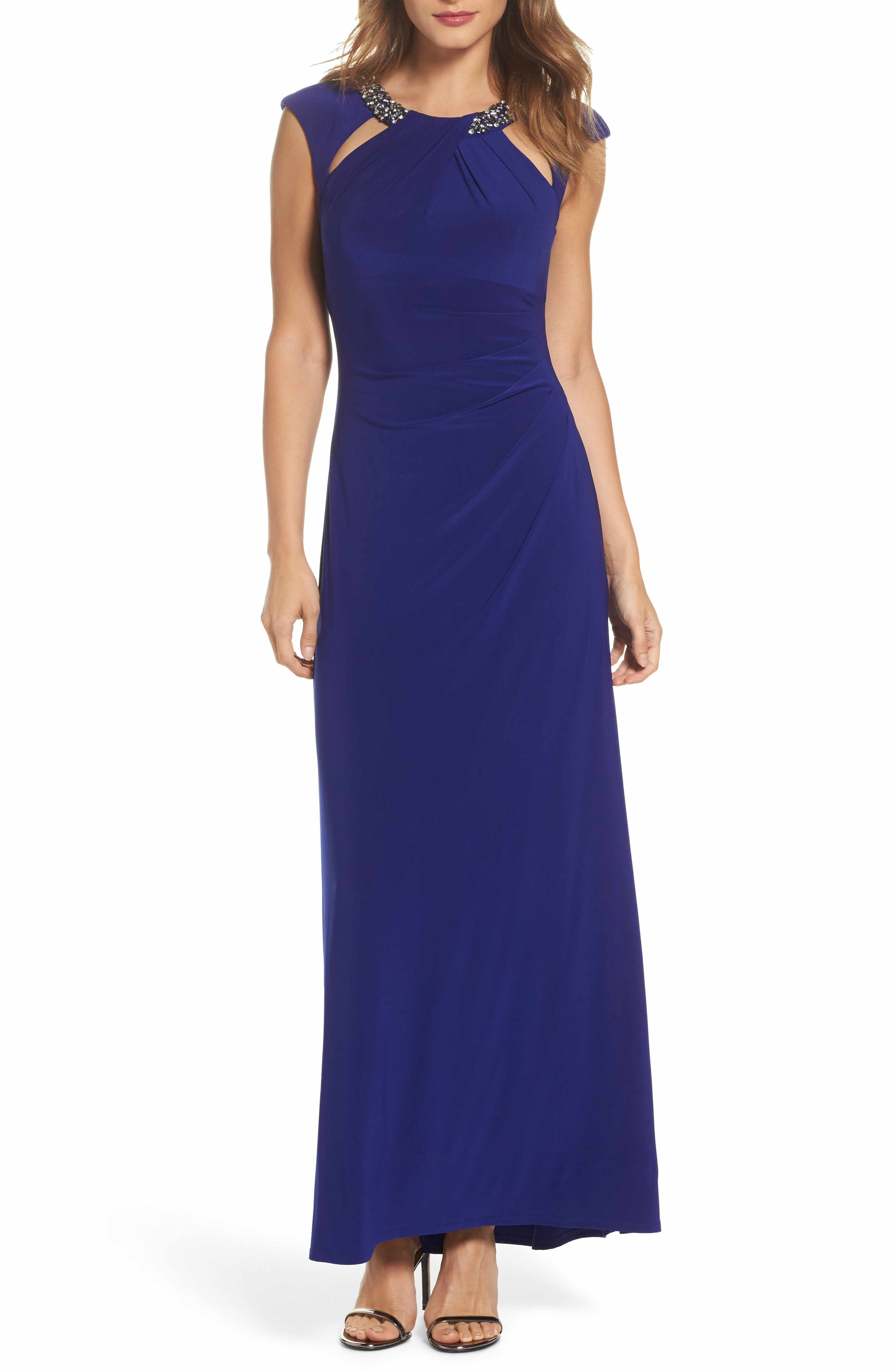 71195a73 Eliza J Petite Long Evening Gowns | Saddha