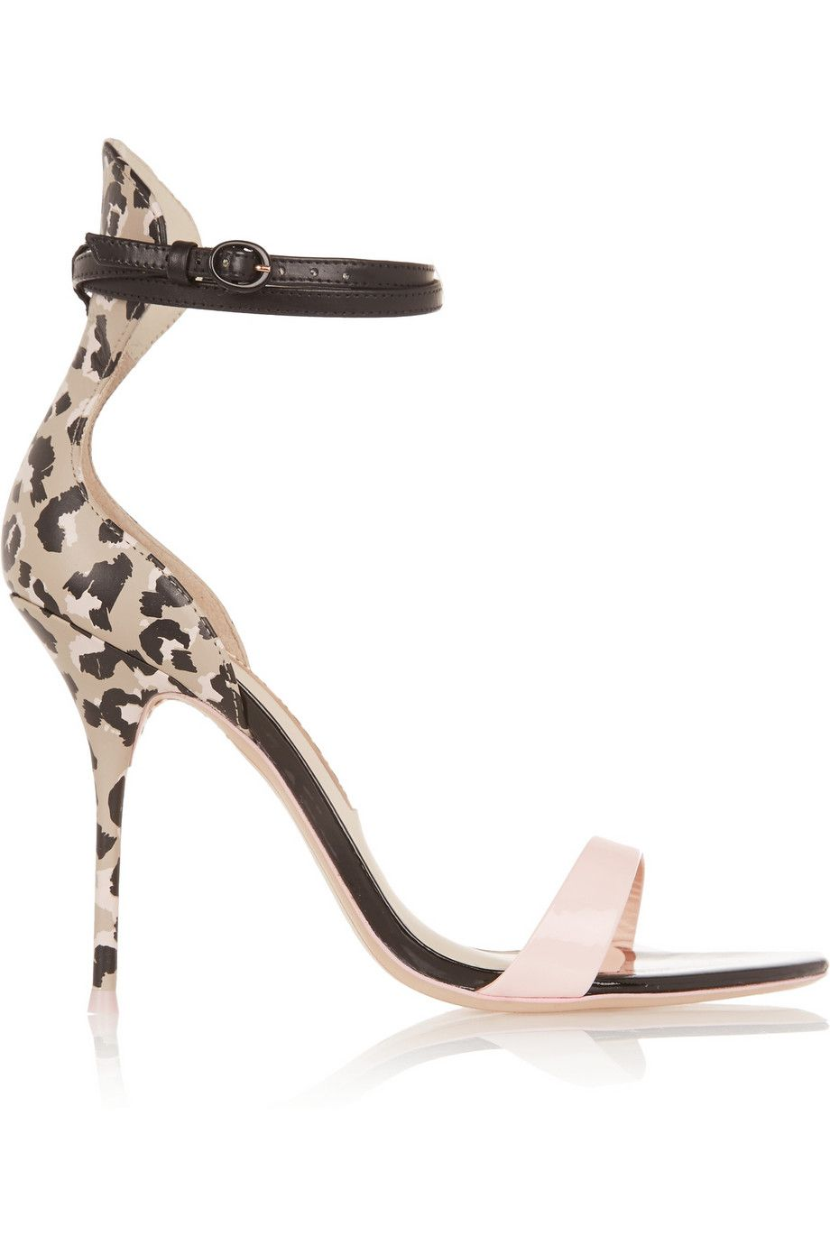 Nicole Patent-leather Sandals - Black Sophia Webster Outlet Low Shipping Factory Outlet For Sale Geniue Stockist Online Clearance Discount Low Shipping Fee Cheap Price MNsj6cfq8v