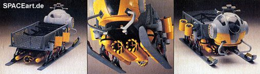 SeaQuest: Deep Ocean Transport, Modell-Bausatz, http://spaceart.de/produkte/seq001.php