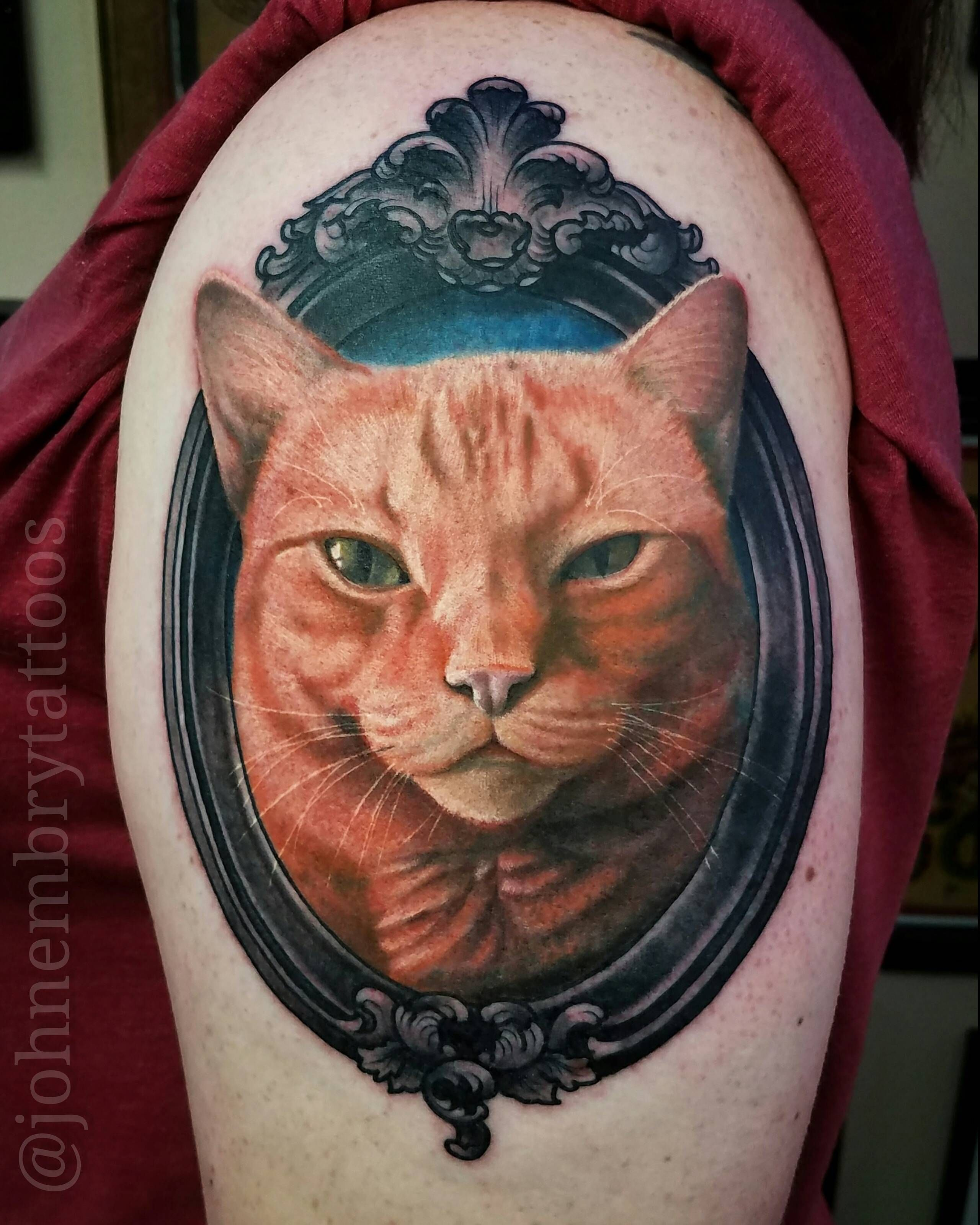 Thought you guys might appreciate this memorial cattoo I did recently. http://ift.tt/2qnltZd