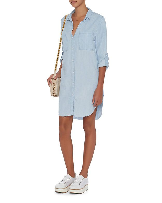 9eb43e1a44 Rails EXCLUSIVE Colby Denim Dress  The epitome of cool girl chic is the denim  shirt