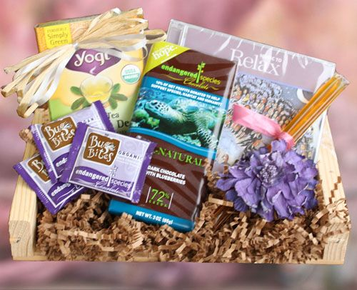 Relaxation And Wellness Gift Basket Gourmet Gift Baskets Healthy Gift Basket Wellness Gifts