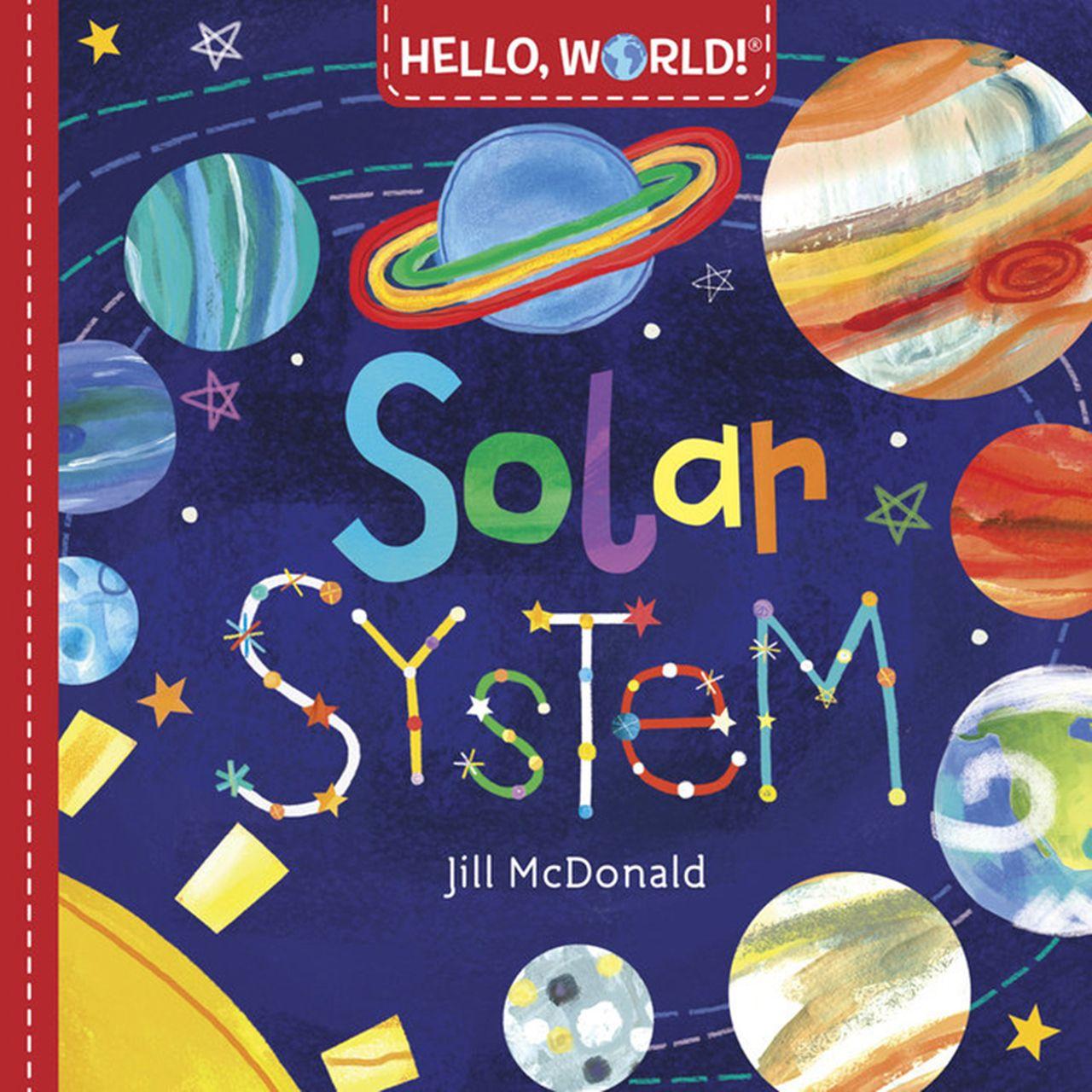 Hello World Solar System Book