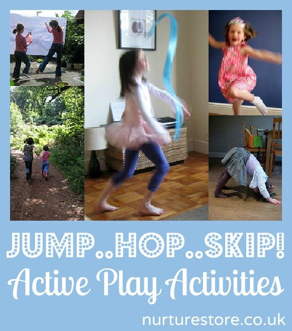 Jump Hop and Skip! Active play activities