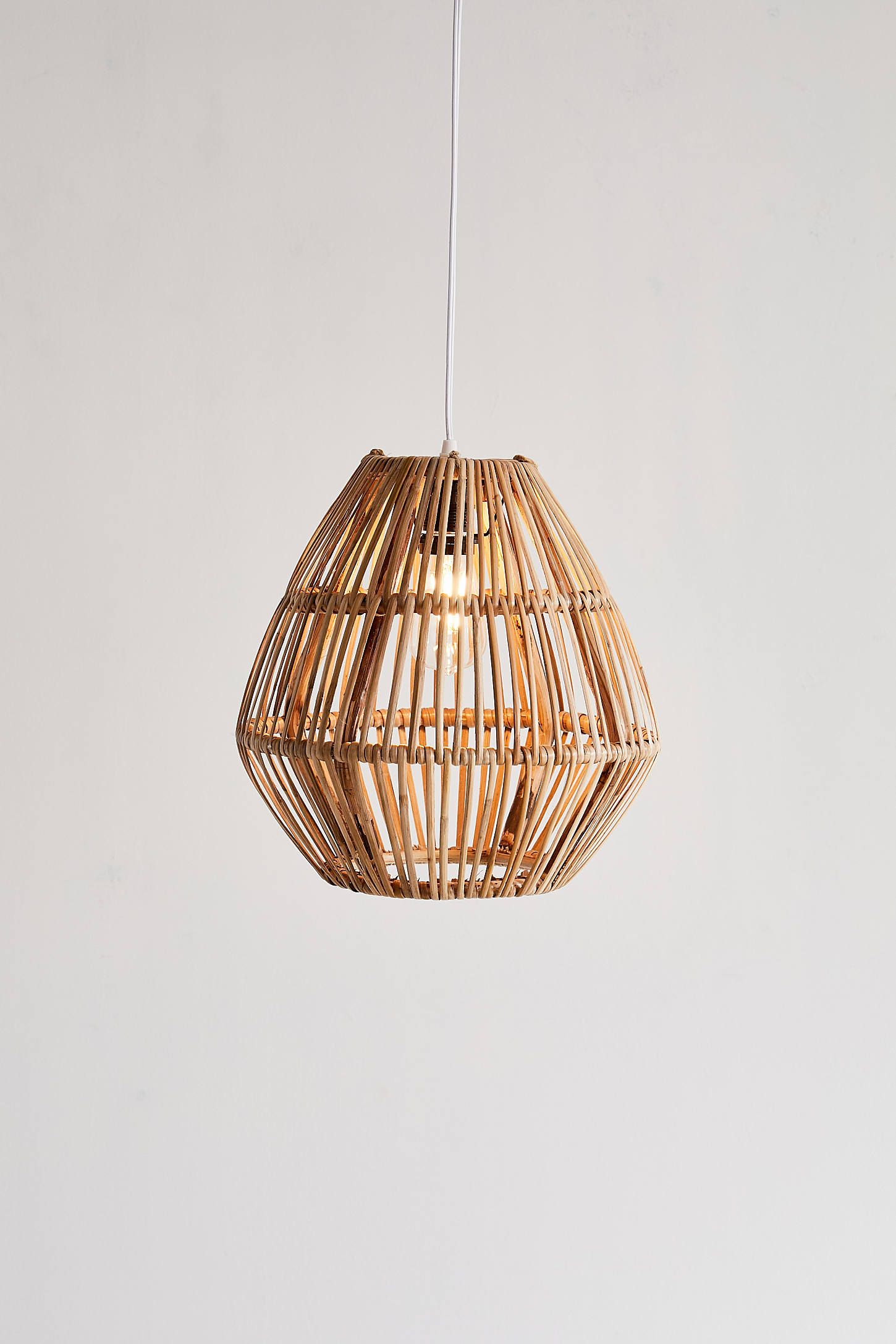 Bamboo Woven Pendant Light Urban Outfitters Bedroom Pendant