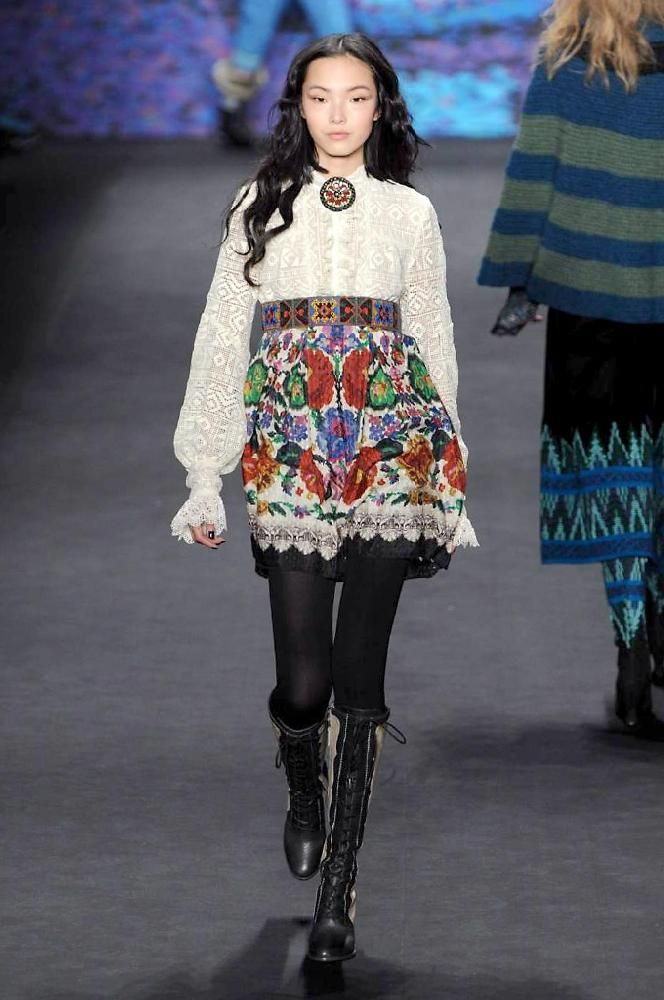 Anna Sui Autumn/Winter 2015 | Fashion, Trends, Beauty Tips & Celebrity Style Magazine | ELLE UK