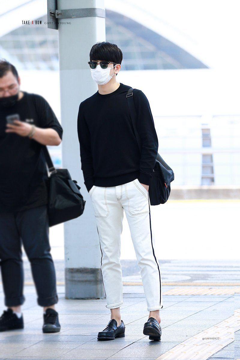 got6 airport fashion  Tumblr  Airport fashion kpop, Korean