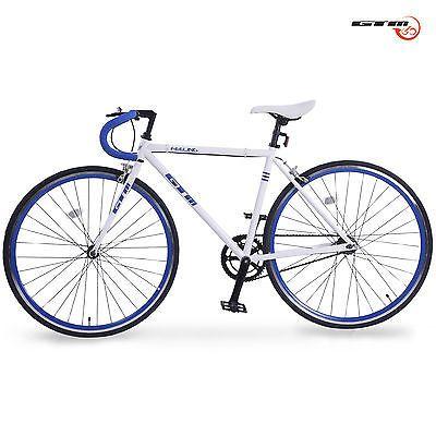 Aluminum 700C Road Bike Frame Racing Bicycle Single Speed Fixed Gear ...