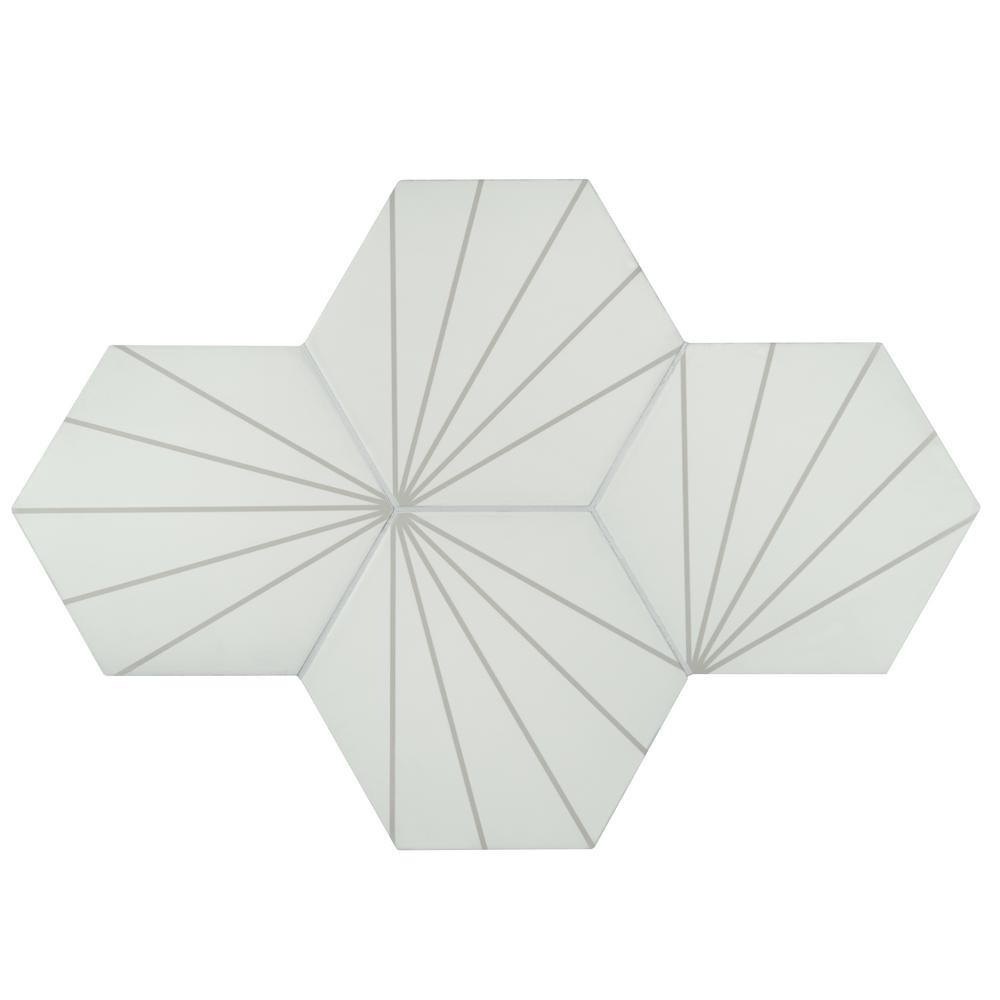 matte floor and wall porcelain tile