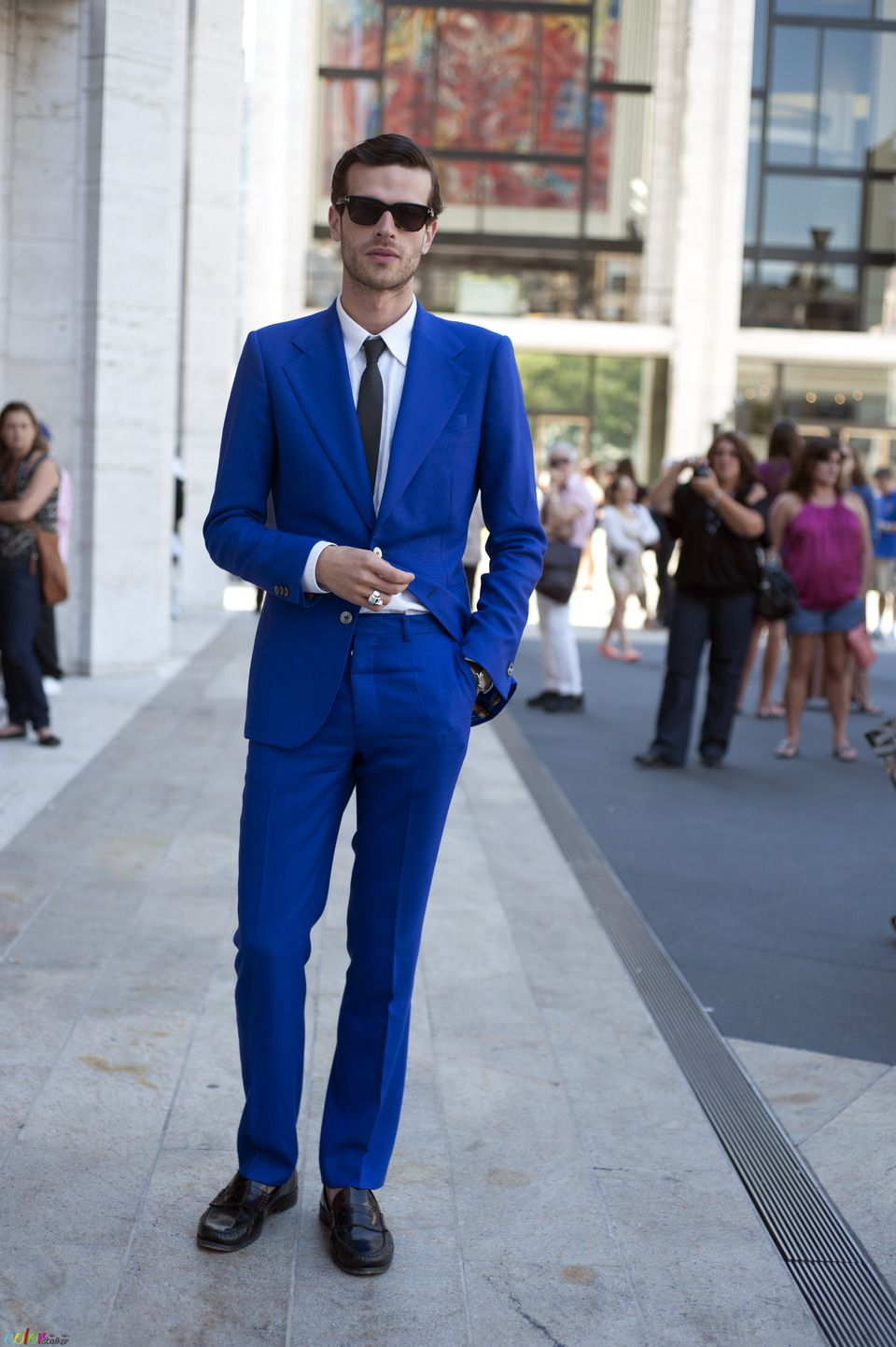 Pin by elise miller on style pinterest blue suit black tie and