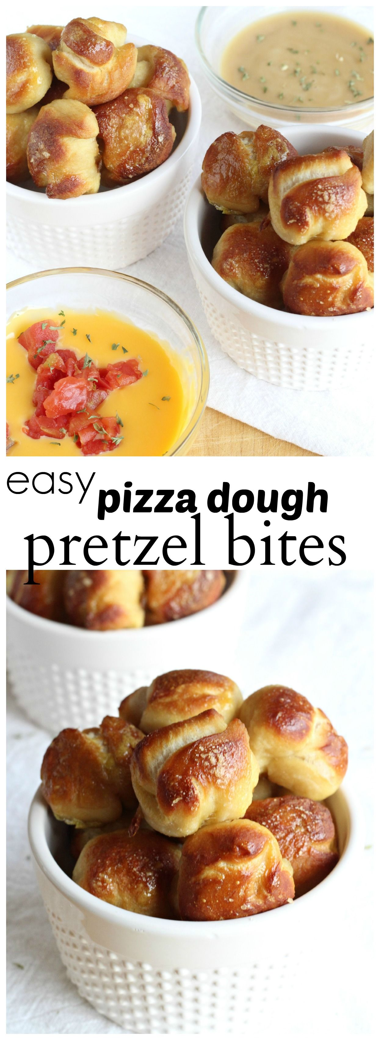 Pizza Dough Pretzel Bites