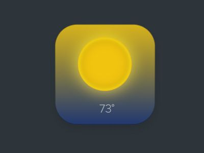 Iphone Weather Icon Ios7