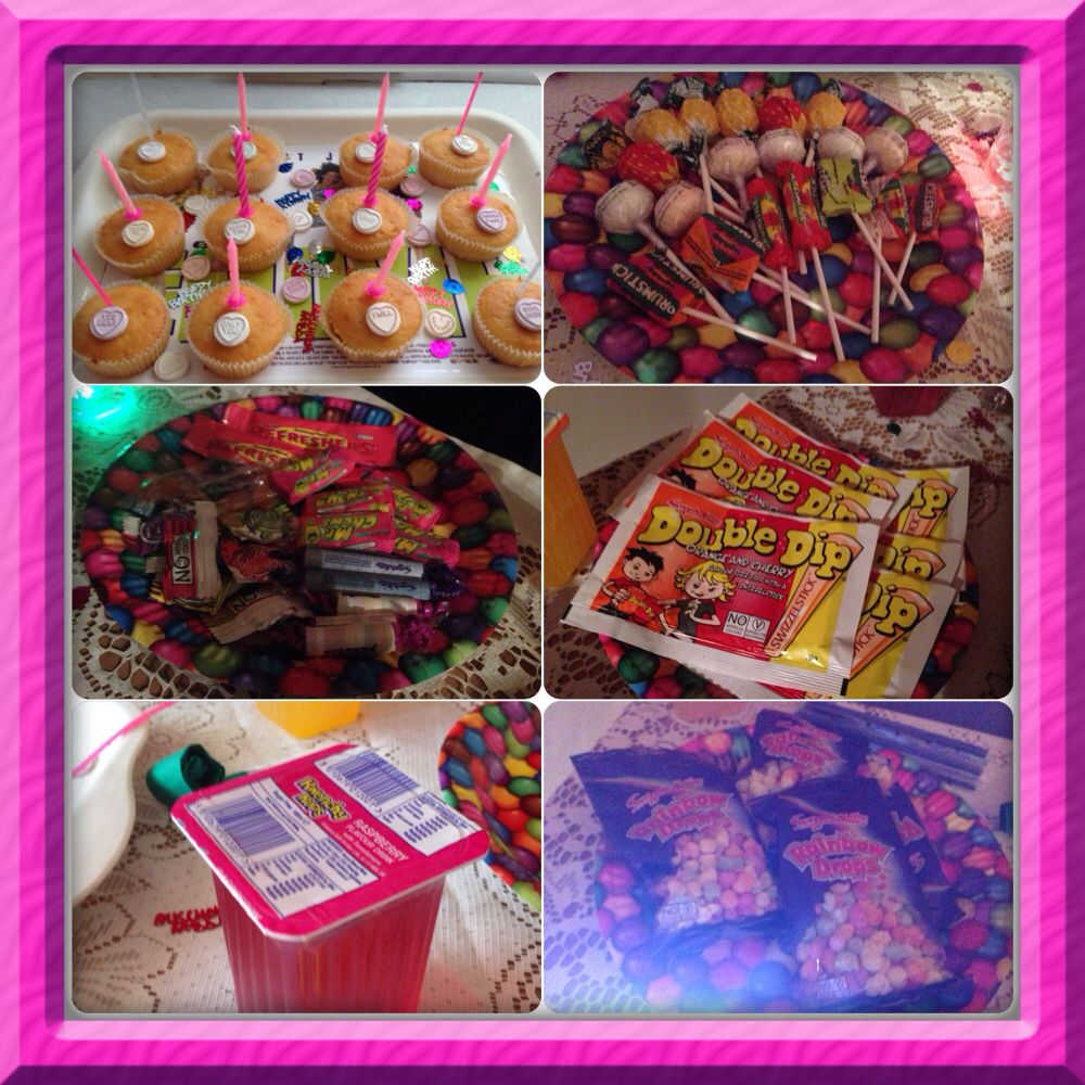 90s Party Food 90th Birthday Parties 13th Anniversary Ideas