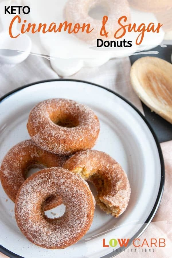 Cinnamon and sugar donuts on keto? Yes…it's true!