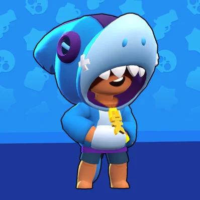 Leon The Shark Costume Brawl Stars חיפוש Google 2020 Oyun Dunyasi Kopek Baligi Havali Seyler