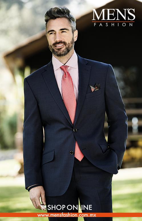 Una camisa en tono rosa es tendencia para esta temporada combínala con un    Traje azul marino. ¡Nuevo   Lanzamiento ! 306045ea13a3