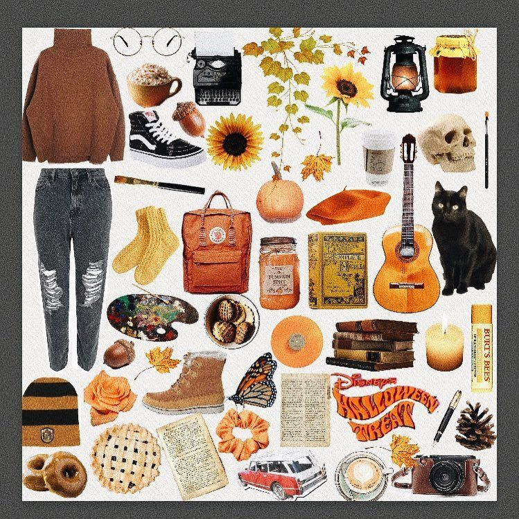 Fall starter pack/ aesthetic #fallaesthetic #starterpack # ...