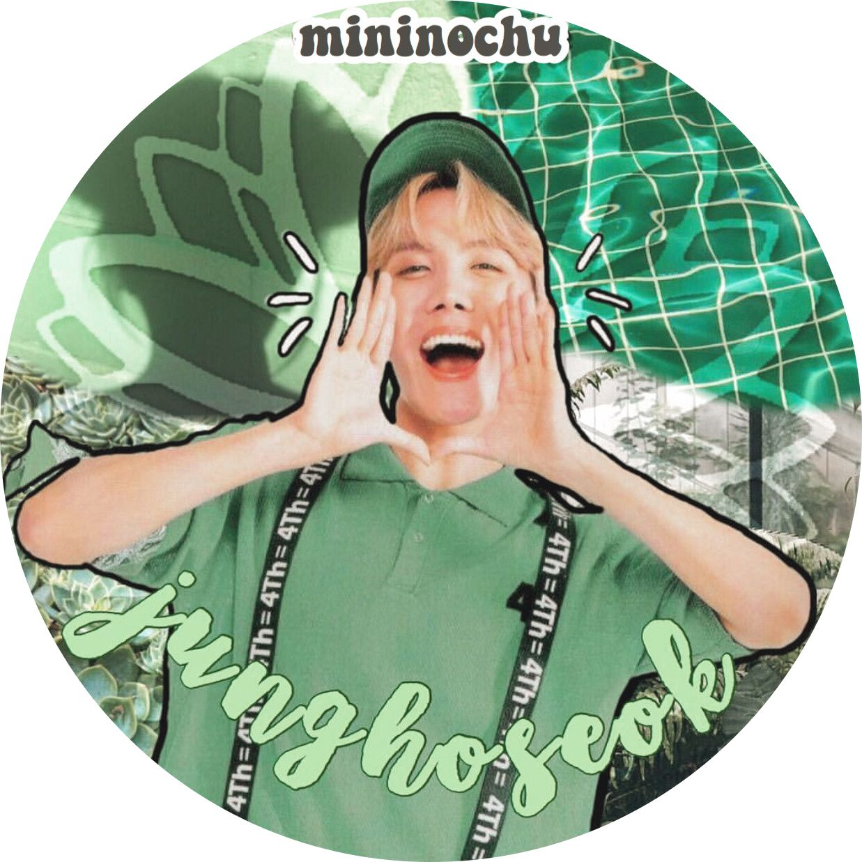 Jung Hoseok green aesthetic icon (With images) Green