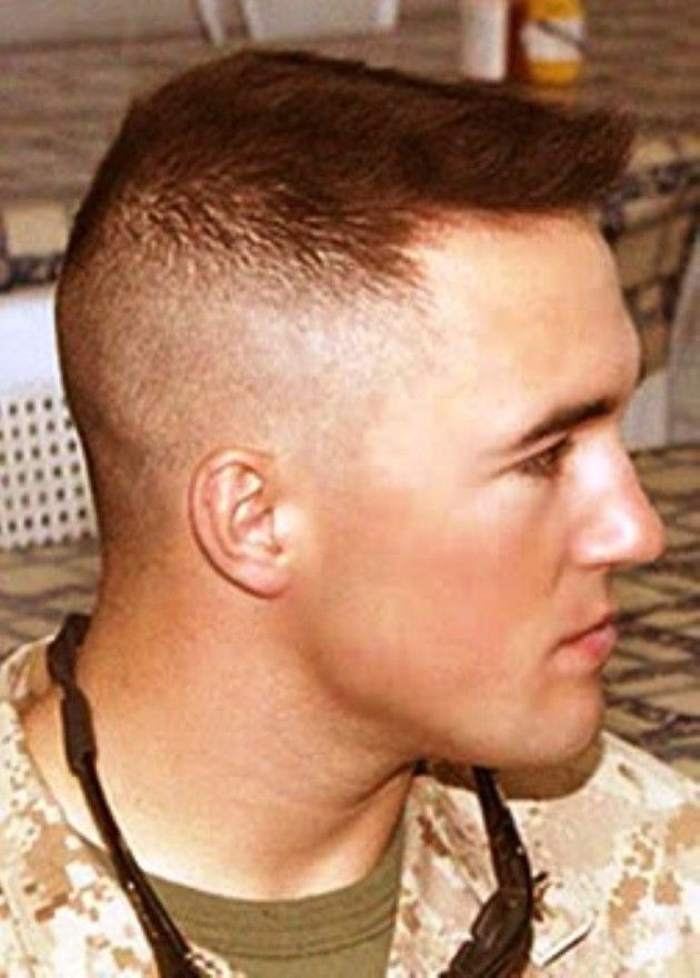 High And Tight Military Hairstyles For Men Men Cuts Pinterest