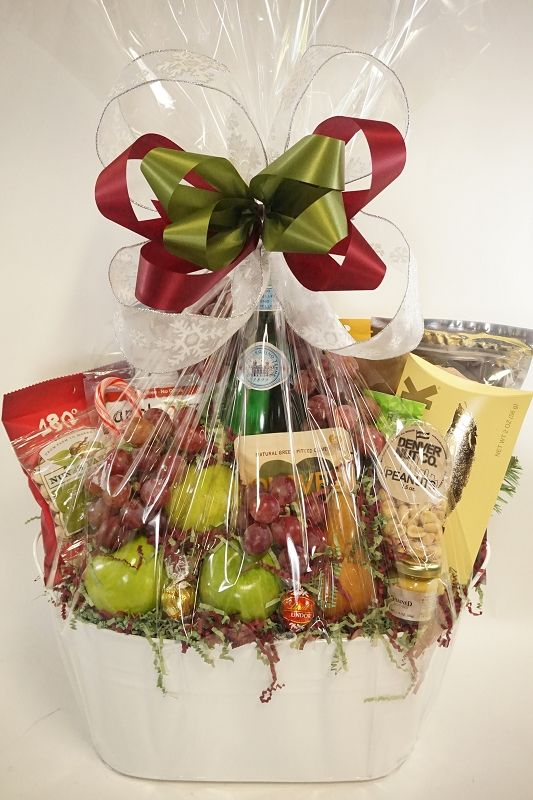 Fresh Fruit for Two- This gift basket has it all! Apples grapes gourmet chocolates meats....plus you can always customize it if itu0027s missing one of your ... & Fresh Fruity Fruit | Gift Baskets Denver | Gourmet gift baskets ...