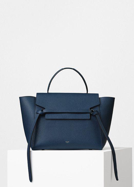 f4e0e77082f5 Mini Belt bag in Grained Calfskin - Céline. Inspiration by Miriam Lasserre
