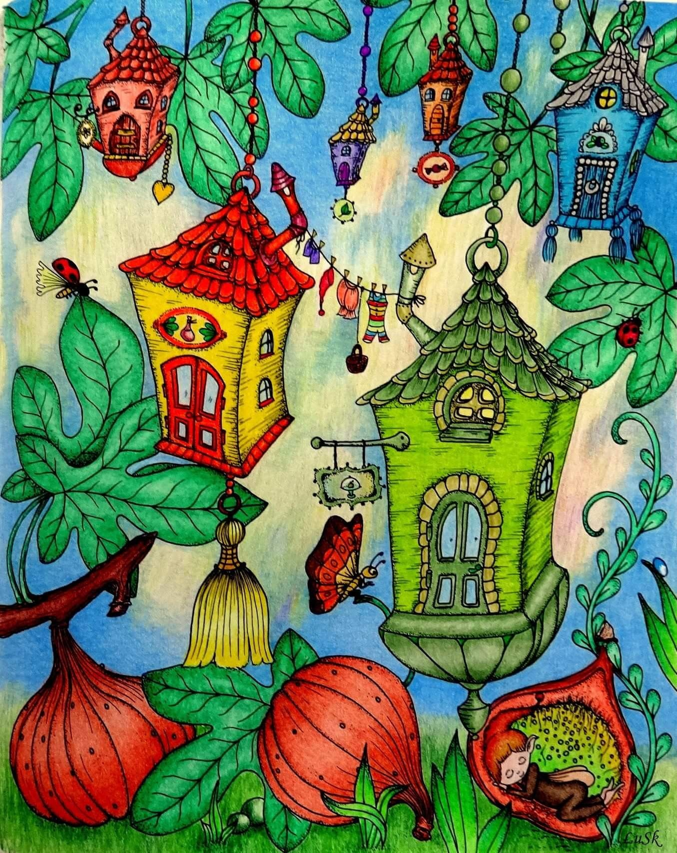Pin by Coloring Queen on Klára Marková Coloring Books | Pinterest ...