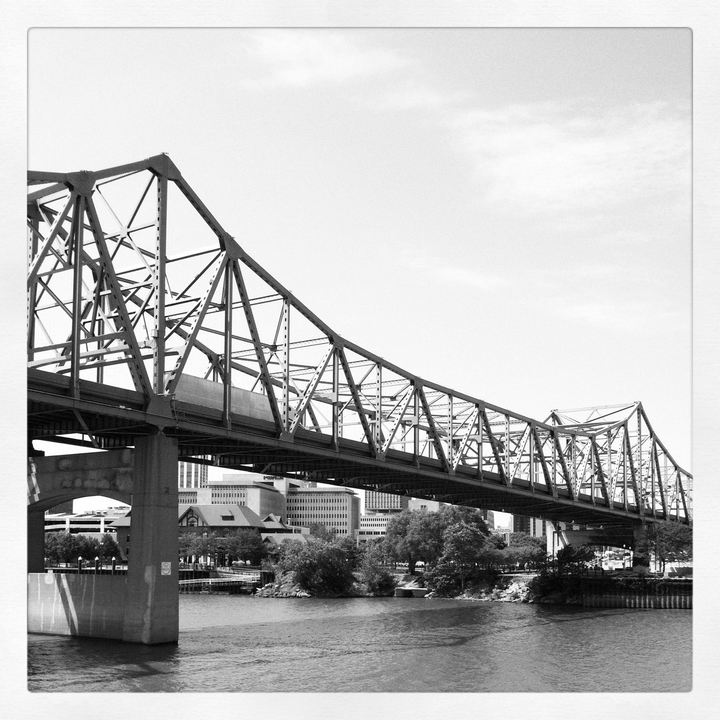 Peoria The Murray Baker Bridge Transportation Peoria