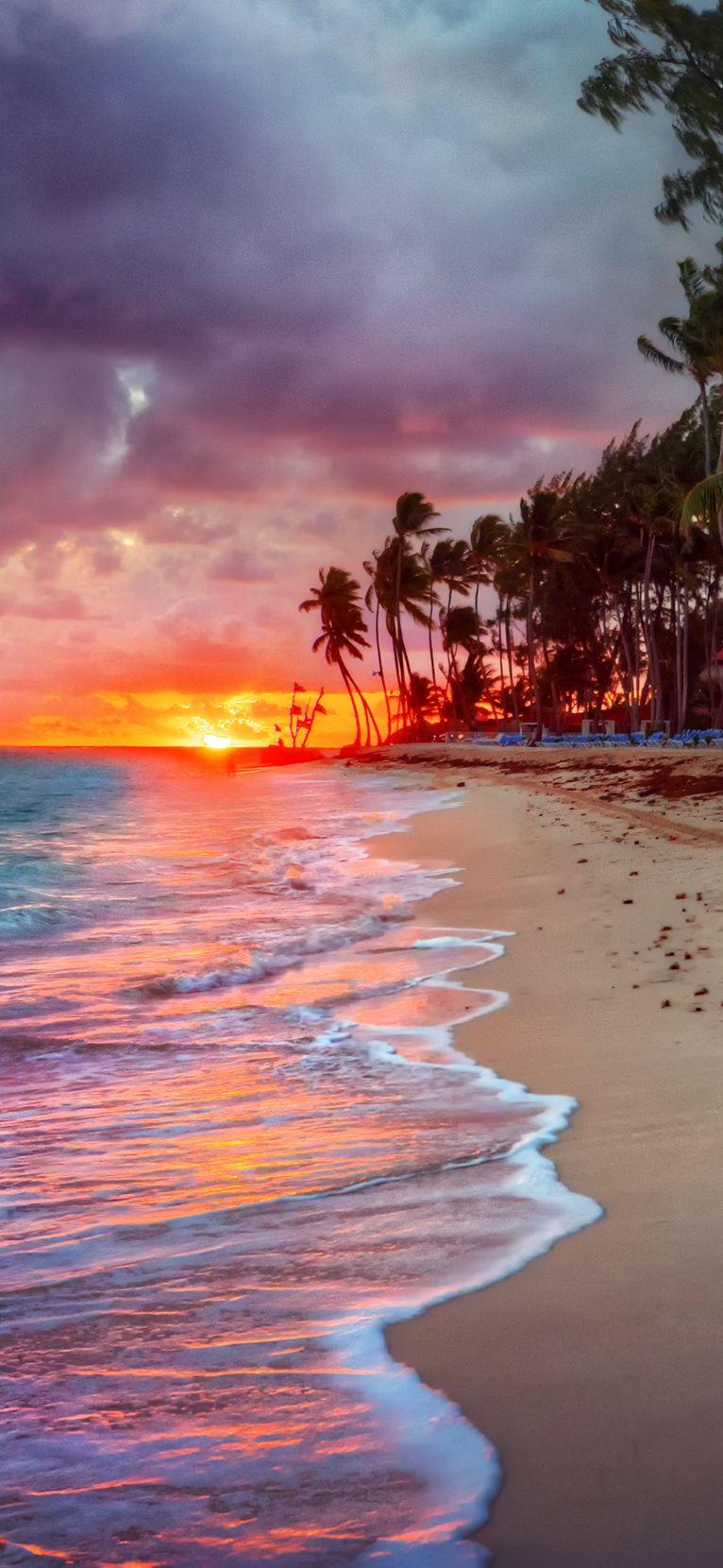 Visto Do Por Sol De Porto Rico