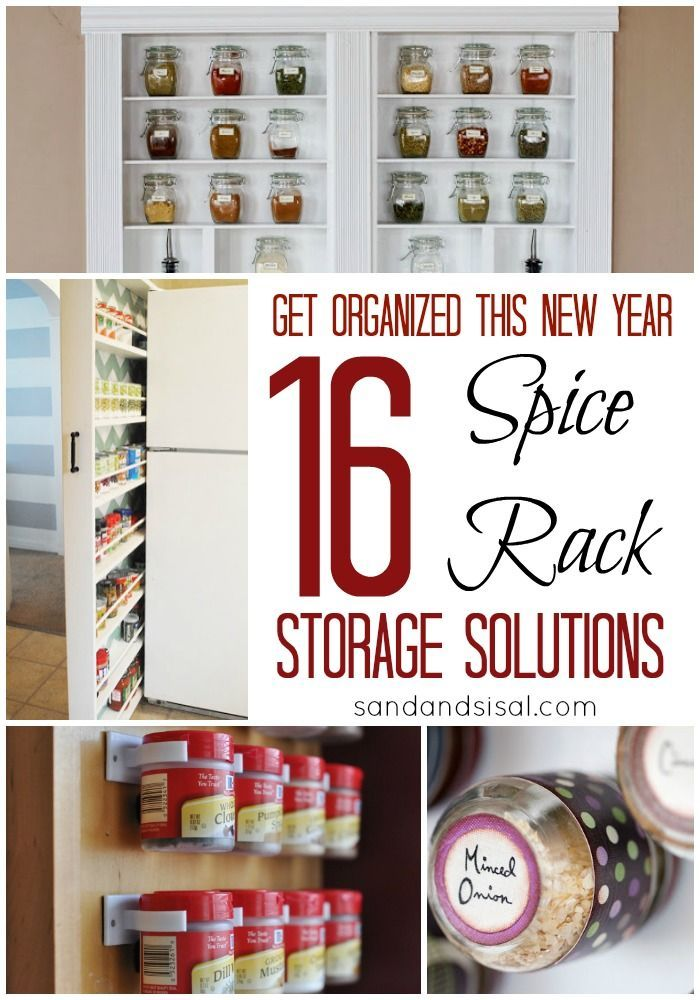 Charming Spice Storage Solutions #5 - Spice Rack Storage Solutions