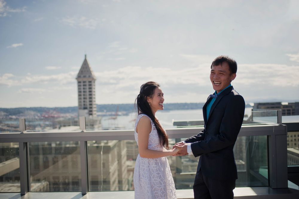 Seattle Courthouse Wedding Photography
