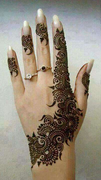 Arabic henna designs bridal mehndi for eid best also mehandi images in patterns art rh pinterest