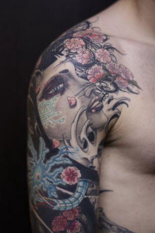 japanese tattoos on sleeve tattoo. Black Bedroom Furniture Sets. Home Design Ideas