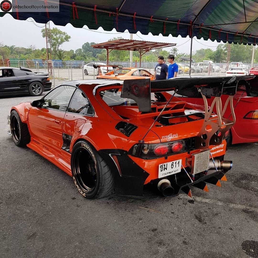 Crown Teq On Instagram Insane Track Mr2 Crownteq Mr2 Sw20 Tagtheowner In 2020 Toyota Mr2 Custom Cars Instagram