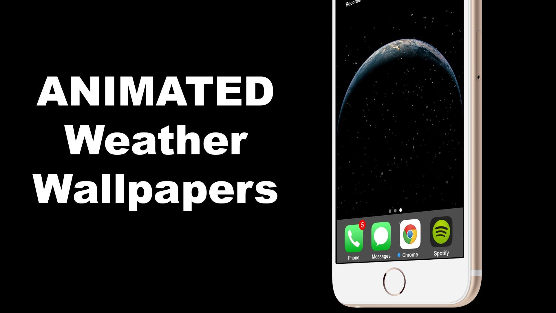 how to add changing animated weather wallpapers for ios 8 and ios