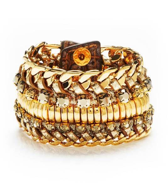 deluxe girlfriend beaded wrap bracelet - designer bracelets - bracelets for women Henry Bendel