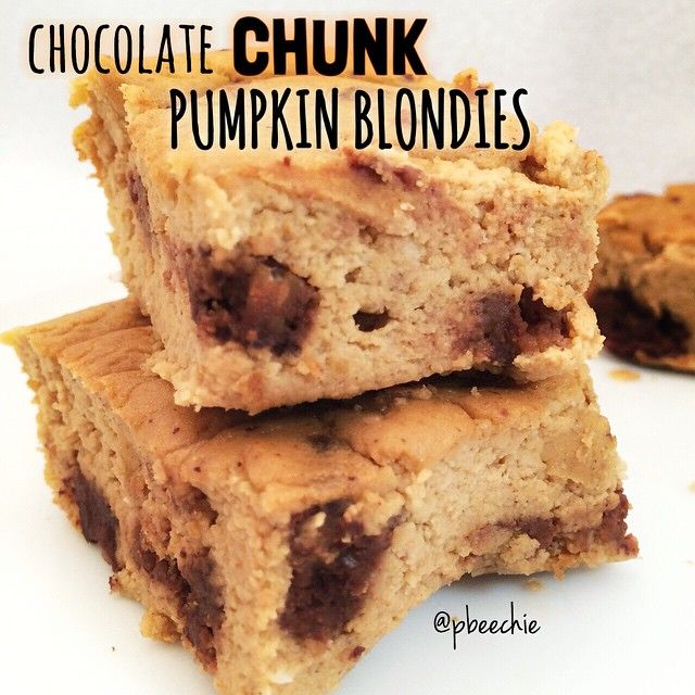 Chocolate Chunk Protein Blondes